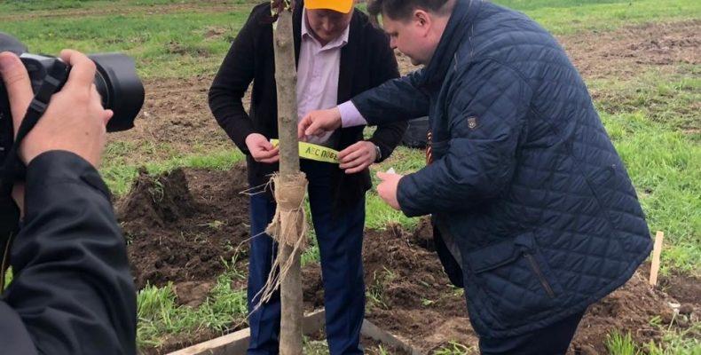 Сергей Хромылёв принял участие в акции «Лес Победы»